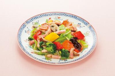 いろいろ野菜の黒酢風味炒め.jpg